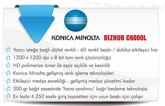 KONICA Minolta Bizhub C6000L