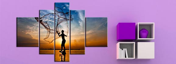 Copy Center,Dijital Canvas_Baski1