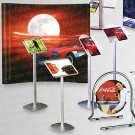 Display Ürünler, Standt ve Broşür, Örümcek masa, Tadtırma Standı